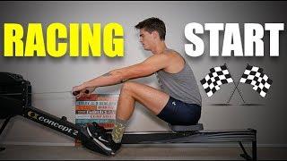 """Rowing Machine: The """"Racing Start"""""""