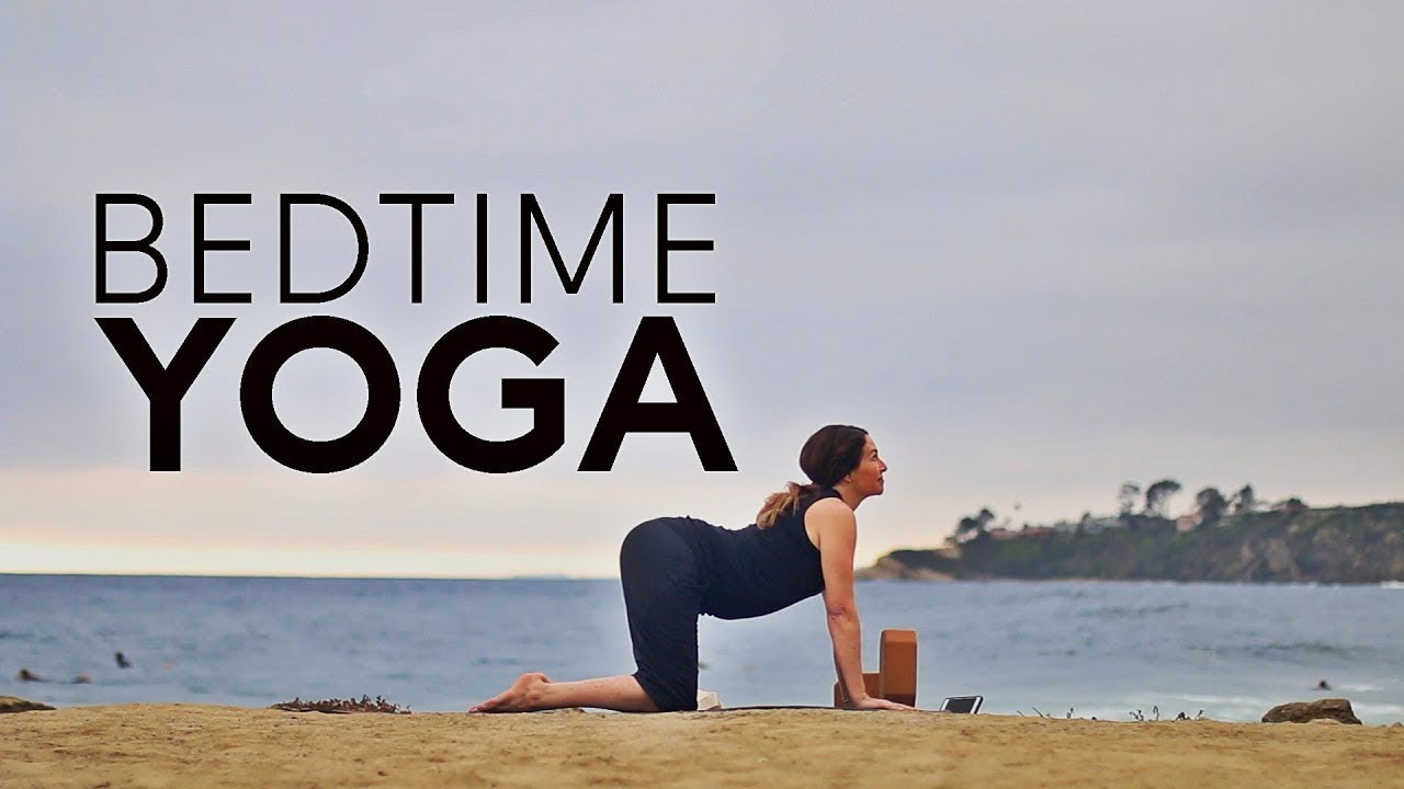 30 Minute Night Yoga For Bedtime (Before Bed) Relaxing Evening Flow