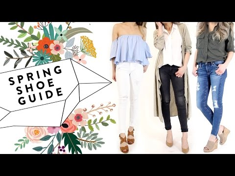2017 Spring Shoe Essentials GUIDE | 2017 Spring Shoe Trends | Miss Louie