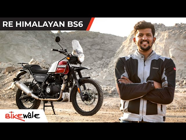 RE Himalayan BS6 | Finally What It Should Have Always Been? | BikeWale