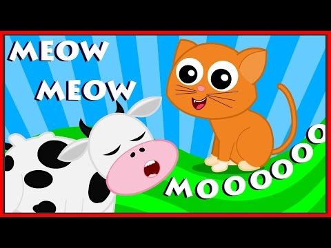 Animal Sound Song  Learn Animals Nursery Rhymes For Kids Childrens Song kids tv S02 EP052