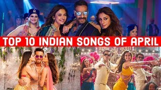 Top 10 Indian Songs of April 2019 - YouTube