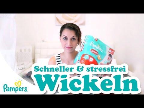 Schneller und stressfrei wickeln - Pampers Baby Dry Pants Gr. 5