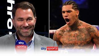 Eddie Hearn reacts to Conor Benn's EXPLOSIVE KO win over Samuel Vargas 💥💥
