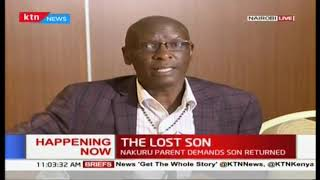 The lost son: Nakuru parent demands son returned, he sued late Saitoti over son