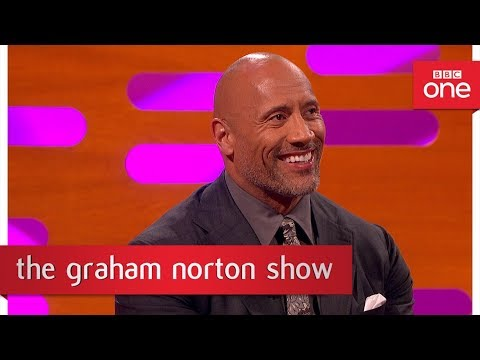 The Rock for United States President - The Graham Norton Show: 2017 - BBC One