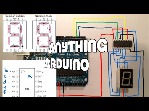 How to use one digit 7 segment display Arduino Tutorial