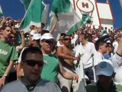 """HURACAN (1) - (0) FERRO (01-12-2012) ENTRADA DE LA BANDA"" Barra: La Banda 100% Caballito • Club: Ferro Carril Oeste"