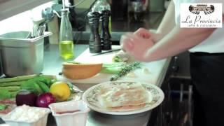 Салат из кролика с печеной тыквой от шеф-повара LA PROVINCIA Владимира Хохлова