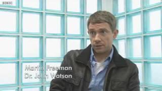 """Martin Freeman : """"Qui est Watson?"""" (en anglais)"""
