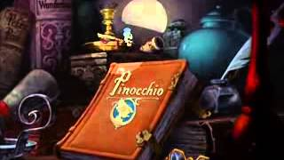Pinocchio   'When You Wish Upon A Star'   Full Animation  HD  Remastered 1940 'Release Print'