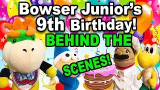 Bowser Jr's 9th Birthday BTS