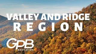 Valley and Ridge | Regions of Georgia