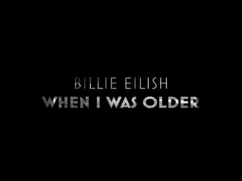 Billie Eilish - WHEN I WAS OLDER (Lyrics With Film ROMA)