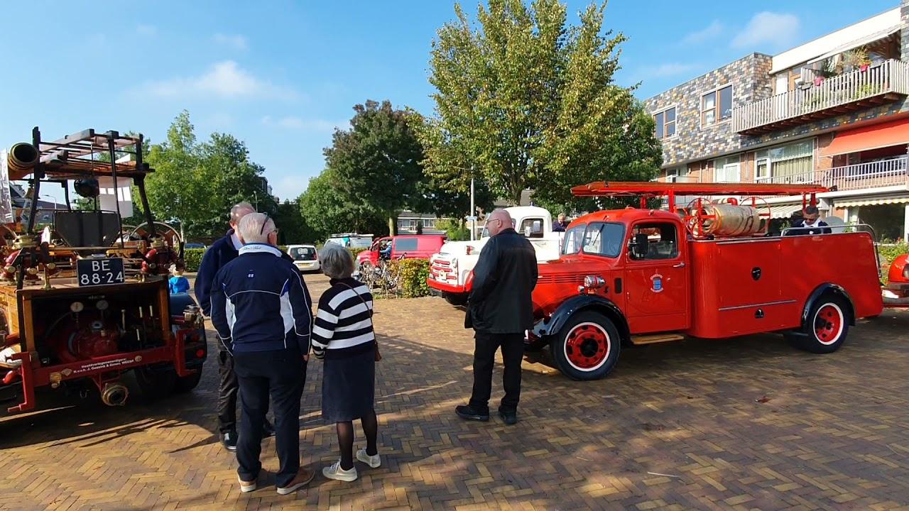 21-10-09 Herdenking grote brand in Bergambacht in 1921 – Rondje lopen