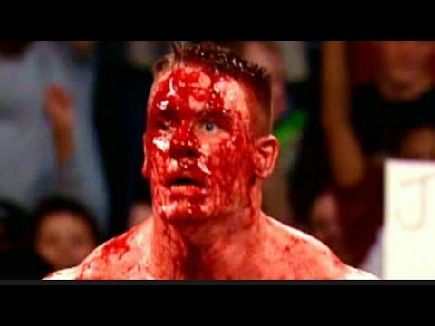 Bloody Match Brock lesnar vs john cena