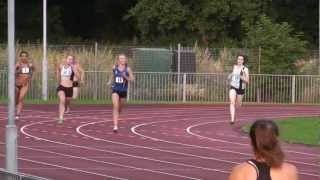 preview picture of video 'Kathryn Sutton Dartford Open 400m July12'