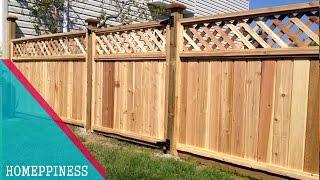70+ Nice Wood Fence Panel | New Design Ideas 2017