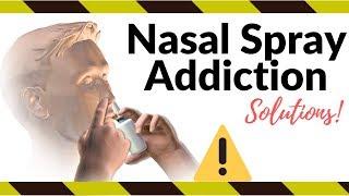 Nasal Spray Addiction | How To Treat Rebound Congestion | Rhinitis Medicamentosa Relief (2021)