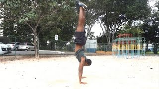 How I Learned to Handstand
