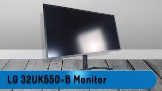 Let´s Test - LG 32UK550-B 80,01 cm (31,5 Zoll) Monitor