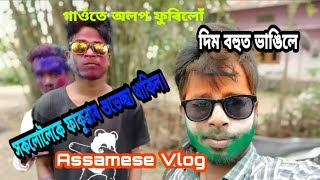 preview picture of video 'HOLI VLOG||Assamese Vlog||'
