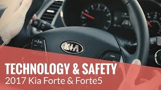 The 2017 Kia Forte – TECHNOLOGY & SAFETY