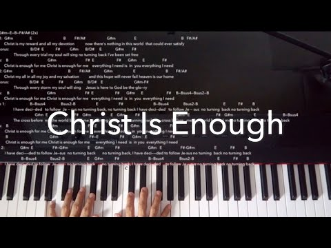 Download Hillsong Live Christ Is Enough Piano Tutorial Video