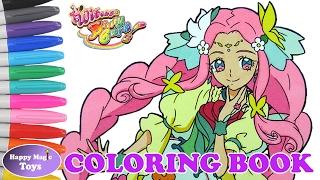 Maho Girls Precure Coloring Book Cure Felice Happy Magic Toys
