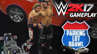WWE 2K17 Concept/Idea: Parking Lot Brawl Match Gameplay - Edge vs Seth Rollins