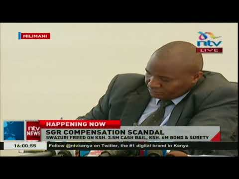 NLC chairman Muhammad Swazuri released on Ksh. 3.5M cash bail