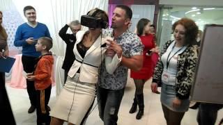 """Аттракцион """"Виртуальная реальность"""" на выставке """"Свадебный Гомель"""""""