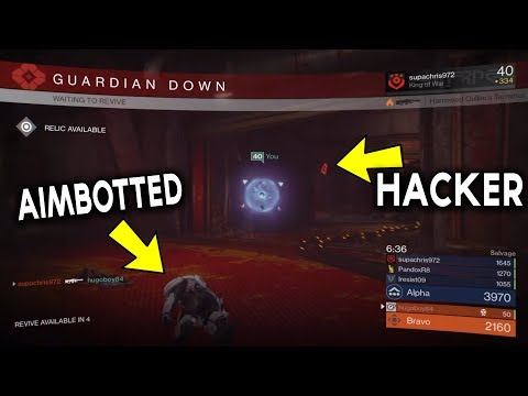 AIMBOT HACKER in Destiny! (Wall Hack, God Mode, Aimbot)
