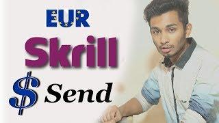 How to send skrill eur to usd dollar | bangla tutorial