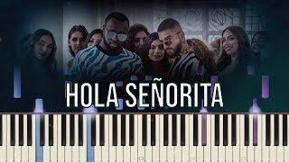 GIMS, Maluma   Hola Señorita (Maria) | Piano Tutorial