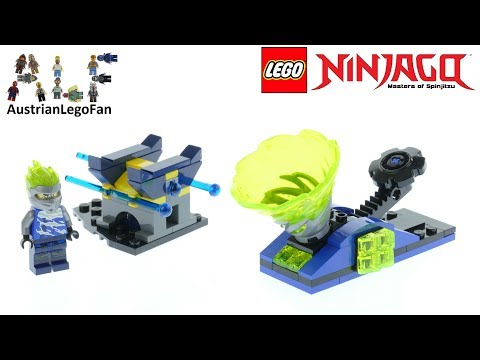 Vidéo LEGO Ninjago 70682 : Spinjitzu Slam - Jay