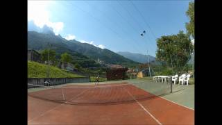 preview picture of video 'partita  a tennis'