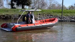 Mutual Aid Swift Water Rescue Boats Hit Sacramento Area
