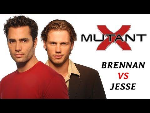 Mutant X- Brennan VS Jesse