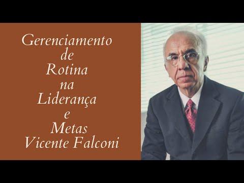 Gerenciamento de Rotina na Liderança e Metas - Vicente Falconi