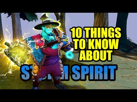 10 Things to Know About STORM SPIRIT DOTA2
