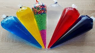 Making Slime Piping Bags - Crunchy Slime #12