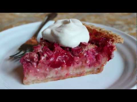 Video Strawberry Rhubarb Custard Pie - The Best Strawberry Rhubarb Pie Recipe