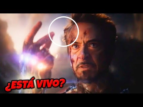 ¡BOMBAZO! Marvel Explica la MUERTE de IRON MAN en AVENGERS END GAME mp3 yukle - mp3.DINAMIK.az