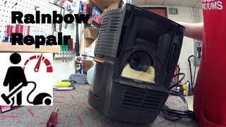 Rainbow E2 Gold Vacuum Repair  2 speed Rainbow repair