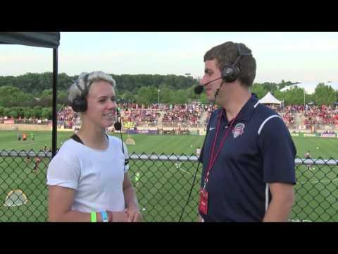 Lori Lindsey Halftime Interview
