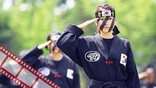 Тренировки рукопашного боя в Корейской армии. Эффектно.