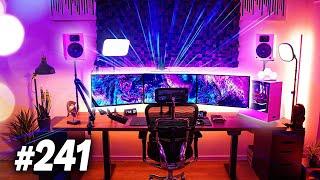 Room Tour Project 241  - BEST Desk & Gaming Setups!