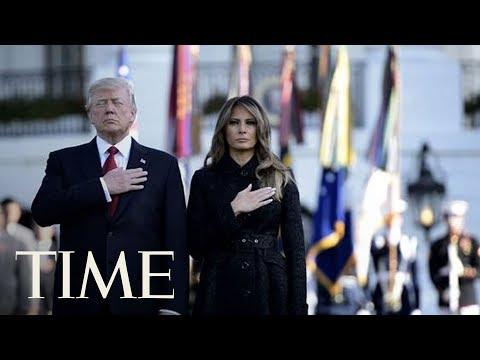 President Donald Trump And First Lady Participate In 9/11 Observance At The Pentagon | TIME
