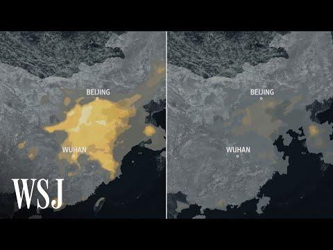 Vliv koronaviru na čínskou ekonomiku a znečištěné ovzduší